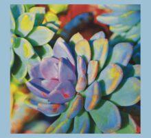 Succulent Color - Botanical Art By Sharon Cummings Kids Tee
