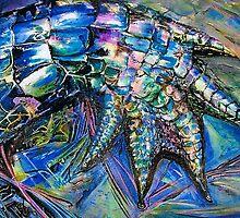 Opal Croc. by Cathy Gilday
