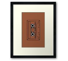 Chillee's Mixed Tape 2 by Chillee Wilson Framed Print