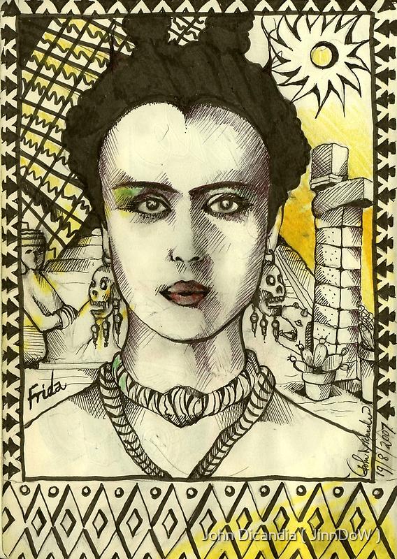 The Aztec Princess  by John Dicandia  ( JinnDoW )