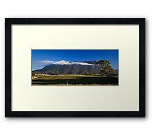 The Veil-Mt Roland Framed Print