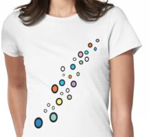 Bubble T Shirt Womens Fitted T-Shirt