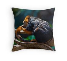 I think I've discovered the secret of life - you just hang around until you get used to it. Throw Pillow