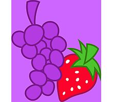 Berry Punch Cutie Mark Photographic Print