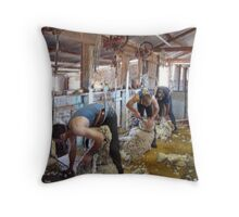 Super human beings Throw Pillow