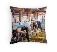 Super human beings 2 Throw Pillow