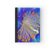 Blue Himalayan Poppy Hardcover Journal