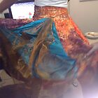 Circus Tent 2 - multi coloured and pannelled skirt by sylversorceress