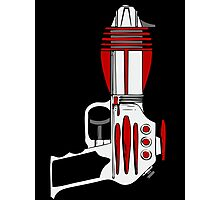 Retro Space Ray Gun by Chillee Wilson Photographic Print