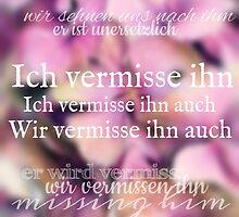 Ich Vermisse Ihn Auch by Nathalie Himmelrich