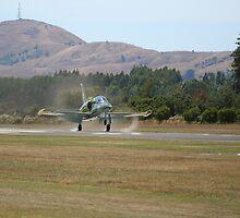 Clear for landing by Andrew Bennett