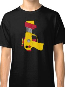 Retro Space Ray Gun by Chillee Wilson Classic T-Shirt