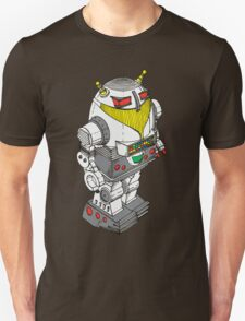 Retro Robot  by Chillee Wilson Unisex T-Shirt