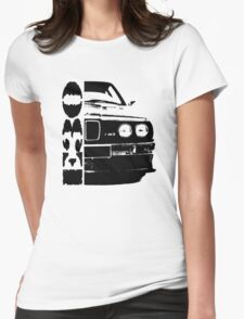 BMW e30 Womens Fitted T-Shirt