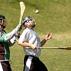 Irish Hurling in Indianapolis 4 by Oscar Salinas