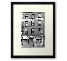 South Street Framed Print