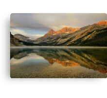 Bow Lake Sunrise  Canvas Print