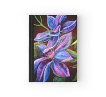 Flowers...Clematis Hardcover Journal