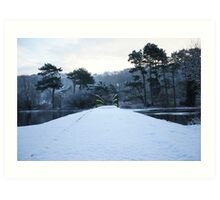 The Mere, Scarborough Art Print