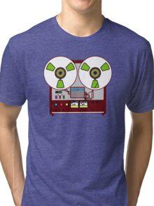 reeling the music Tri-blend T-Shirt
