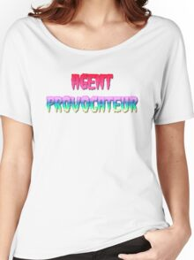 AGENT PROVOCATEUR by Chillee Wilson Women's Relaxed Fit T-Shirt