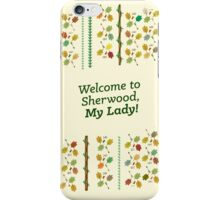The Adventures of Robin Hood (vertical design) iPhone Case/Skin