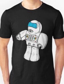 Retro Robot Minifigure by Chillee Wilson Unisex T-Shirt