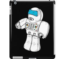 Retro Robot Minifigure by Chillee Wilson iPad Case/Skin