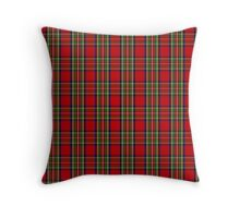 Clan Stewart Tartan Throw Pillow