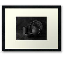 BLACK MAGIC Framed Print