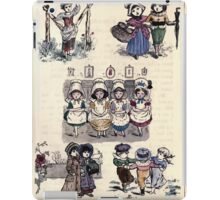 The Little Folks Painting book by George Weatherly and Kate Greenaway 0045 iPad Case/Skin
