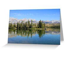 Talbot Lake,  Jasper National Park Greeting Card