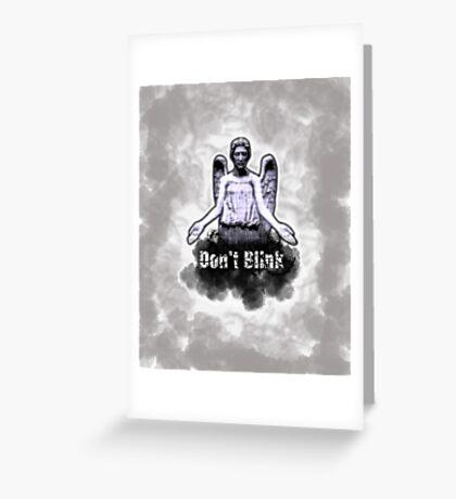 Weeping Angel Greeting Card