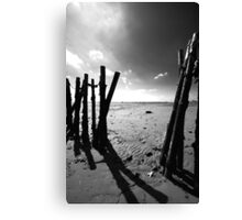 Old Fishing Harbour Canvas Print
