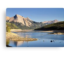 Medicine Lake  Canvas Print