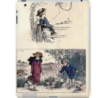 The Little Folks Painting book by George Weatherly and Kate Greenaway 0081 iPad Case/Skin