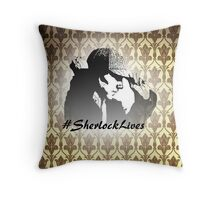 #SherlockLives Throw Pillow