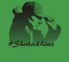 #SherlockLives Baby Tee
