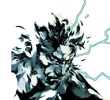 Solid snake by GrayJaeger