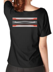 Flying Saucer Back Women's Relaxed Fit T-Shirt
