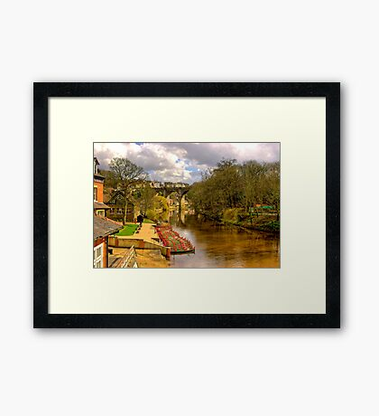 Knaresborough Viaduct Framed Print