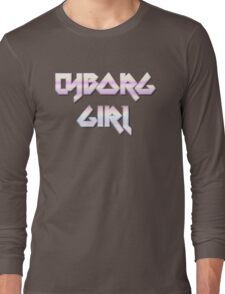 CYBORG GIRL by Chillee Wilson Long Sleeve T-Shirt