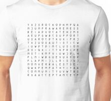 Autism Word Search Unisex T-Shirt