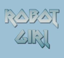 ROBOT GIRL by Chillee Wilson Kids Tee