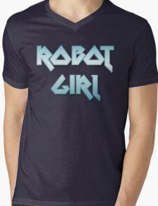 ROBOT GIRL by Chillee Wilson Mens V-Neck T-Shirt
