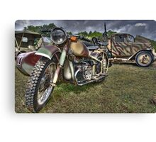 Military Transport Canvas Print