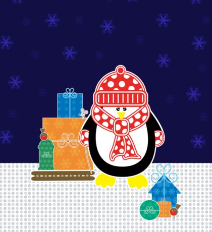 Presents From Penguin Sticker