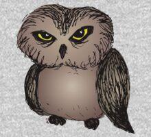 Cranky owl Kids Clothes