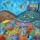 Planting Spring--Acrylic by Juli Cady Ryan