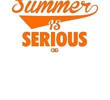 Summer IS Serious Script | Orange by OGedits